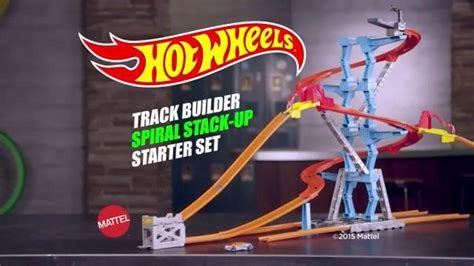 Hot Wheels Track Builder Spiral Stack-up Tv Spot, 'what's