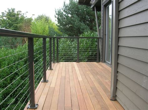 ipe deck tiles vancouver ipe deck cable railing studio design gallery best
