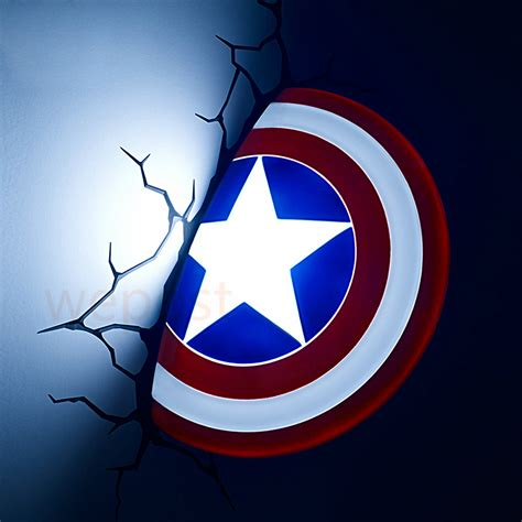 new 3d alliance captain america shield creative