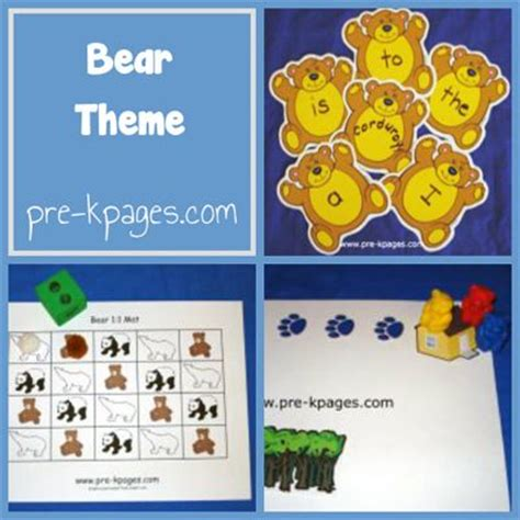 1000 images about preschool theme bears on 361 | 4db119d502f2b753f675c12171812056