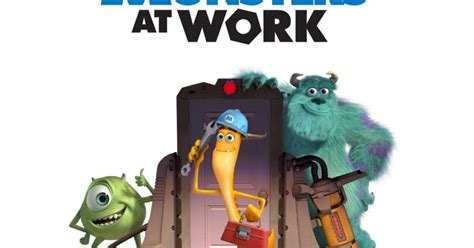 monsters  work logo  additional details highlighted