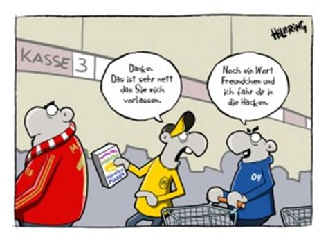 reviersport cartoon schoen doof