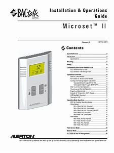 Microset Ii Installation  U0026 Operators Manual Ltbt