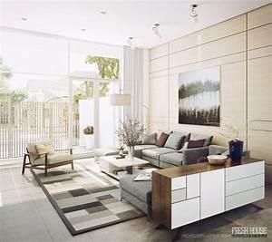 modern neutral living room decor ideas
