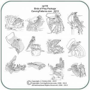 Birds of Prey Patterns – Classic Carving Patterns