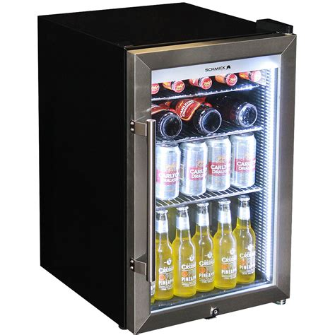 alfresco tropical bar fridge glazed door and