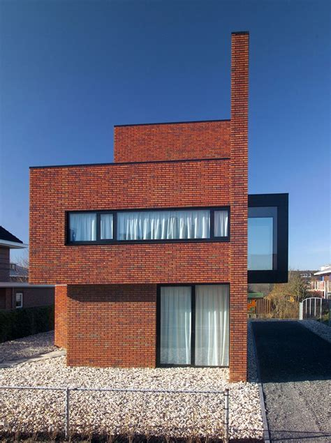 brick wall in house brick wall house woerden residence e architect