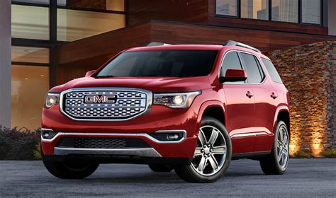2020 Gmc Acadia Changes by 2020 Gmc Acadia Denali Rumors Changes Price Release