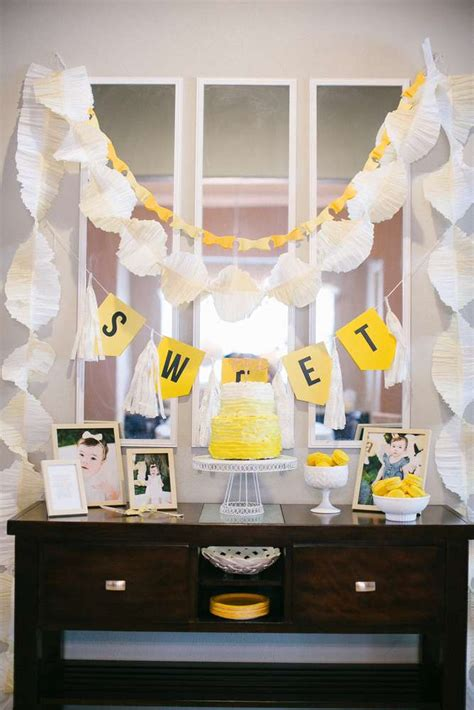 sunshine birthday party ideas photo