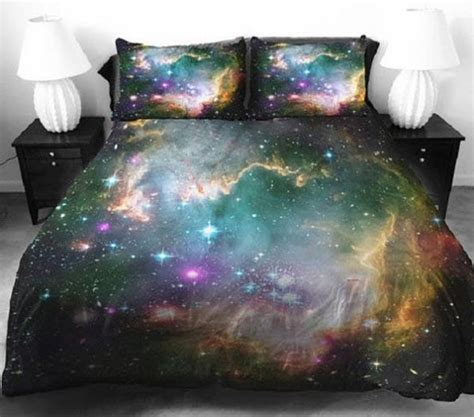 Celestial Galaxy Bedsheets  Space Bedding