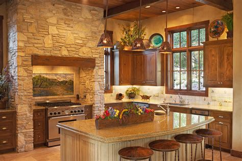 cuisine interiors hill country style southwestern kitchen