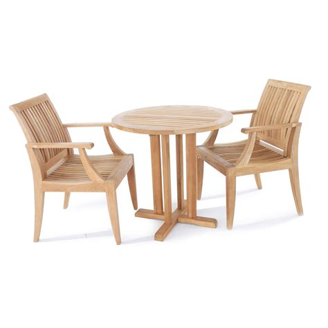 teak bistro set westminster teak outdoor furniture