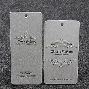 custom hang tags clothing printed paper swing tag With apparel tag printing