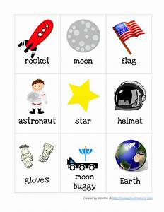 Astronaut Preschool Skill Worksheets