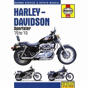Haynes Manual Harley Xl1200 Sportster Custom 1997