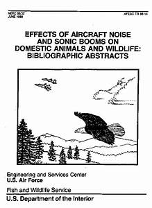 NPC Online Library: Effects of Aircraft Noise and Sonic ...