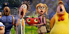 Watch The Cloudy With A Chance Of Meatballs 2 Cast Talk ...