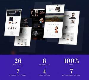 Cool Multipurpose Website Templates Free Psd  Download