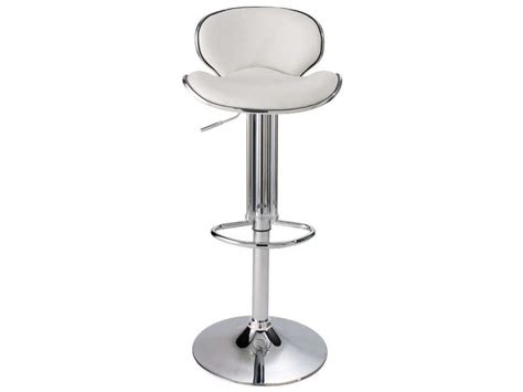 tabouret de bar conforama tabouret de bar shoko coloris blanc vente de chaise de cuisine conforama