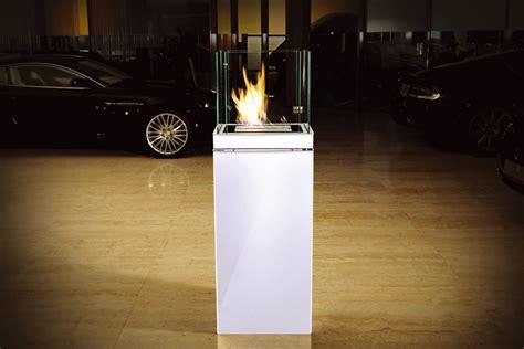 bio ethanol fireplace high flame  liter stainless