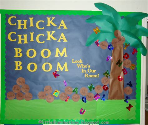 illuminations back to school bulletin boards redux 573 | Chicka Chick 1 BB DSC09063