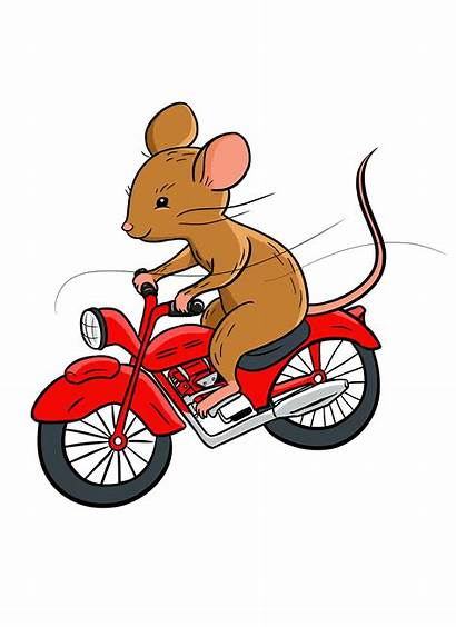 Motorcycle Mouse Beverly Enter Riding Clearly Cleary
