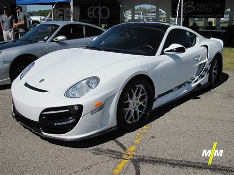 "Porsche Cayman With ""rush"" Bodykit By Anibal Automotive"