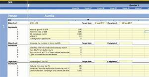 free okr template with ppp and kpi manager for small With google okr template