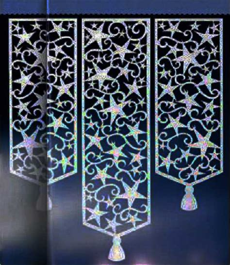 moroccan pattern curtain panels perforated window curtains adding stylish designs to