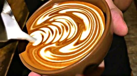 Coffee Shop Background Noise Barista Latte Compilation Satisfying