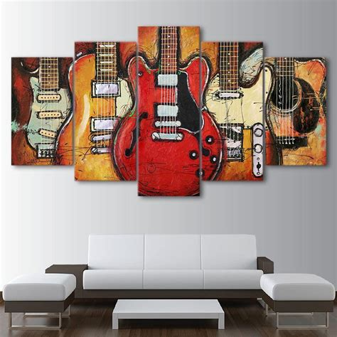shop  guitar themed artwork  shipping instant