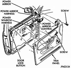 Service Manual  How Do I Remove Power Door Lock Switch