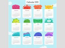 2019 Calendar Editable 2019 Calendar Printable Template