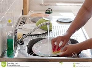 Washing Dishes Royalty Free Stock Photo - Image: 8559845