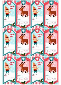 étiquettes De Noel à Imprimer : astuce des tiquettes pour vos cadeaux de no l imprimer ~ Melissatoandfro.com Idées de Décoration