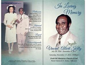 Want To Create Funeral Program Or Obituary Program Using