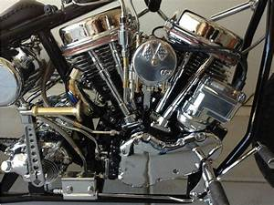 1960 Harley Davidson Flh Panhead Chopper For Sale