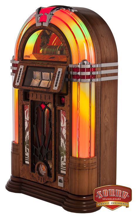 wireless cabinet lighting sound leisure melody slimline cd jukebox liberty
