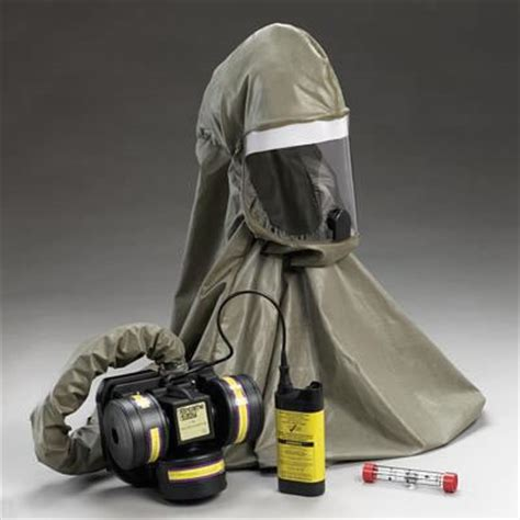 niosh approved  breathe easy papr  butyl rubber hood medicalproducts