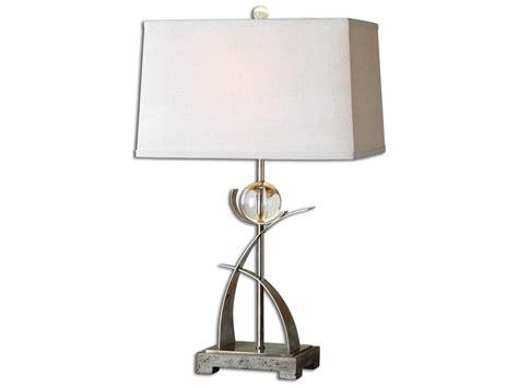 Uttermost Cortlandt Curved Metal Table Lamp
