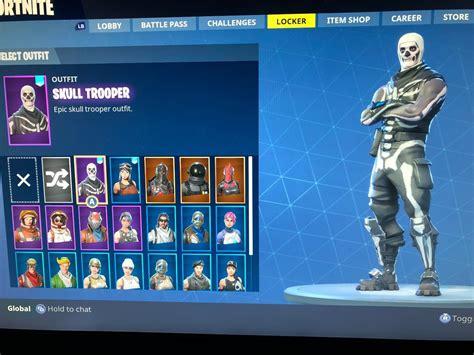 skull trooper fornite account renegade raider fortnite