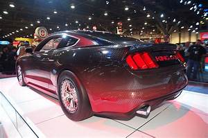 King Cobra rear-view #musclecar #V8 #beastforever #sportscar #racingcar | 2015 ford mustang ...