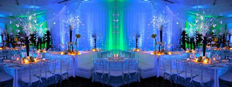 draping and lighting for wedding event lighting draping decor rentals miami fl solaris mood