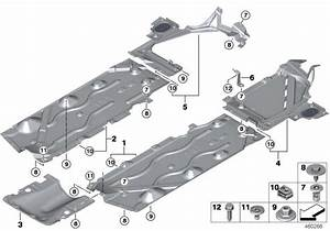 Bmw X1 Undershield For Tank  Left - 51757354759