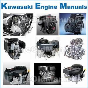 Kawasaki Fd620d Fd661d 4 Stroke Liquid Cooled V Twin Gas Engine Service Repair Manual Download