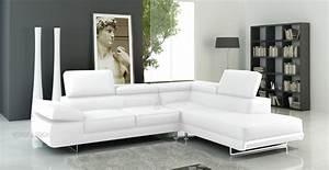 canap d39angle champagne en cuir haut de gamme italien With tapis moderne avec canapé d angle convertible blanc pas cher