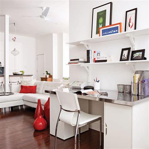 le de bureau articul馥 un pan de mur pour le bureau bureau inspirations décoration et rénovation pratico pratique