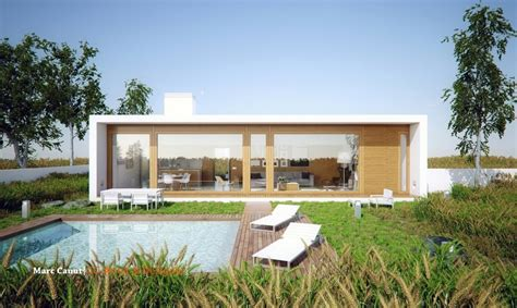 home plans with guest house a fresh take on the guest house by marc canut visualized