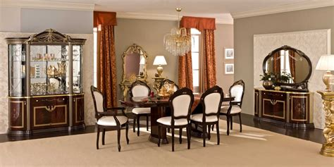 Rustic Italian Dining Room In Classic Look #8426 House