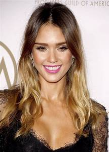 Ombre Hair Dark Brown To Light Brown To Blonde Natural ...